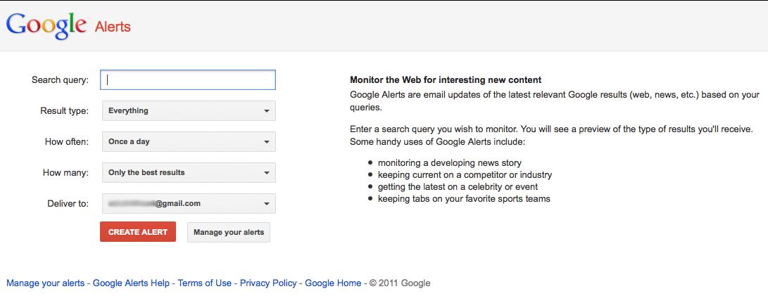 Screen-shot-Google Alerts-Growth Hacking Strategies-Abbakin