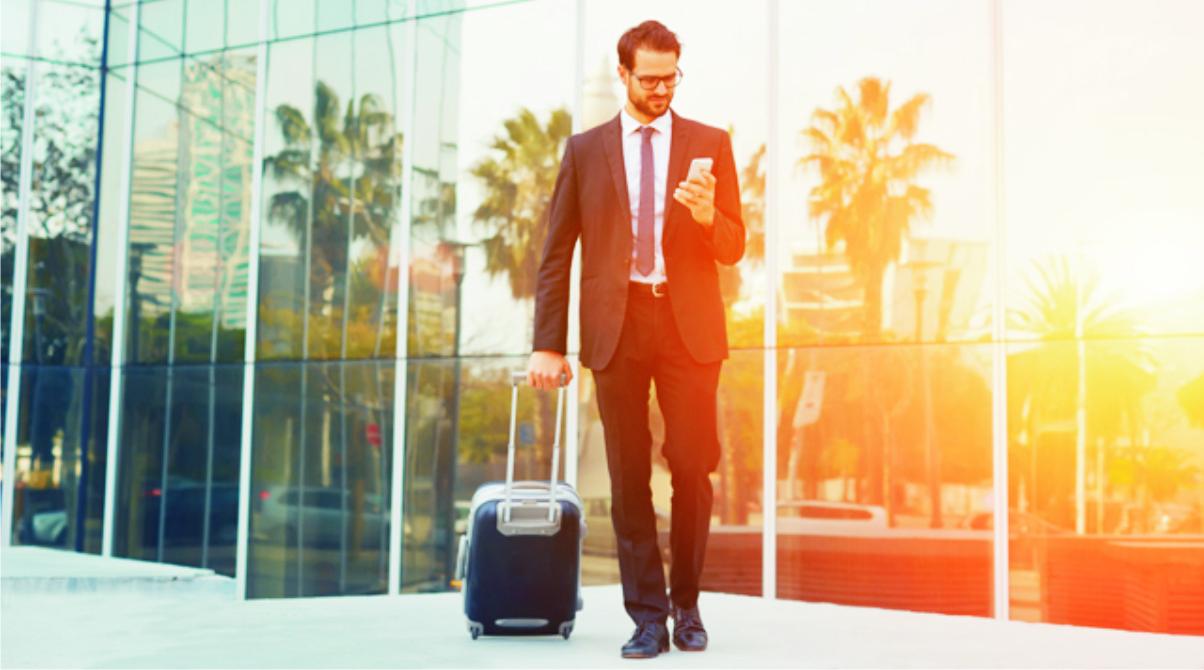 making travel arrangements