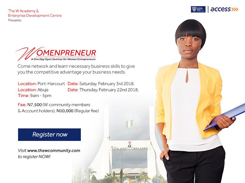 Access Bank Womenpreneur Business Workshop
