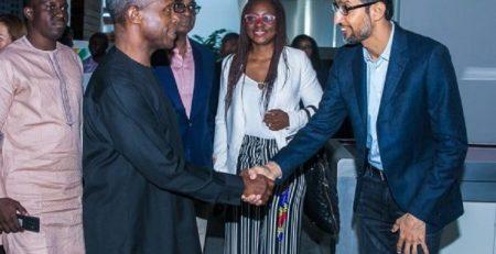 FG Supports Google's Next Billion Users Plan In Nigeria
