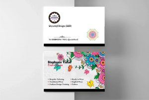 Business Card Printing for Onyxsteph Designs